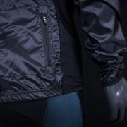 Detalle Chaqueta Cortavientos BLACK PRO 2