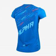 Camiseta mcorta atletismo fem ALPHA back