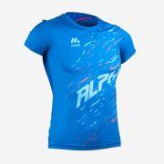 Camiseta mcorta atletismo fem ALPHA front
