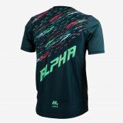 Camiseta mcorta atletismo masc ALPHA back