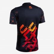 Camiseta mcorta masc Trail Running ULTRA back