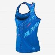 Camiseta tirantes atletismo fem ALPHA back