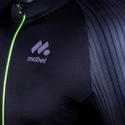 BLACK PRO 2018 maillot manga corta tejido aero