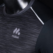BLACK PRO 2018 camiseta running detalle reflectante