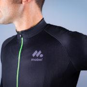 BLACK PRO 2018 maillot manga larga detalle tejido